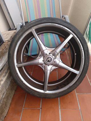 ruedas de alumio
