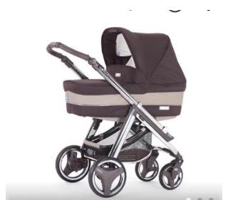 Carro / coche 3 piezas bebé