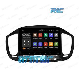 Radio Navegador GPS DVD 9 Android 7.1 para FIAT U
