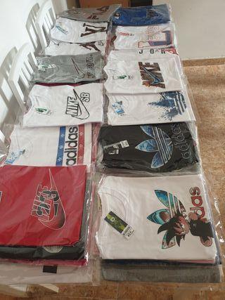 camisetas tallas XS S M L XL XXL