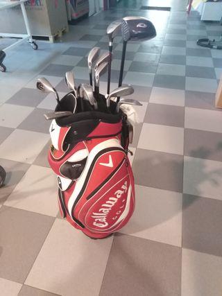 Palos de Golf Callaway Hombre + Bolsa + Carro