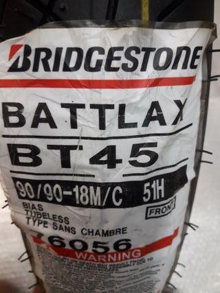 BRIDGESTONE BT45 - 90/90/18