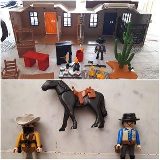 Maletín del oeste de Playmobil
