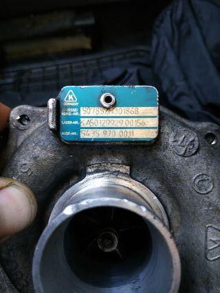 turbos de ocasión motores dci 1.5 k9k