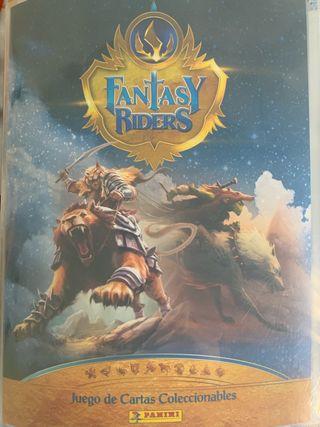 Cromos fantásy rider CAMBIO