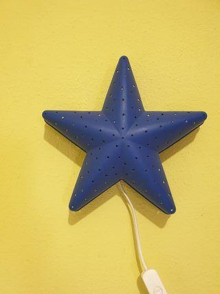 lámpara estrella de mar