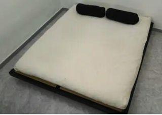 Tatami negro 2.00x1.70 Regalo futon 1.60x1.90 Cama