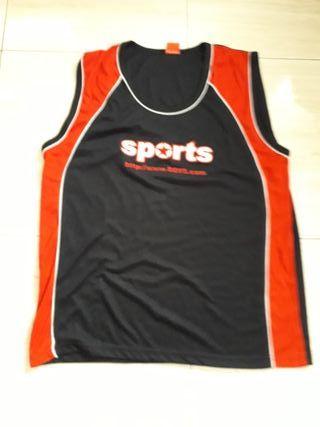 Camiseta deporte hombre talla L/XL