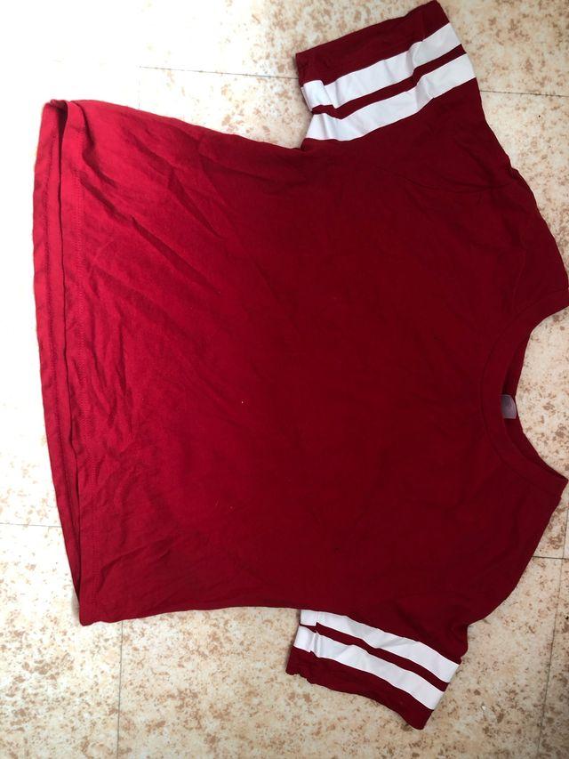 Tee-shirt rouge H&M