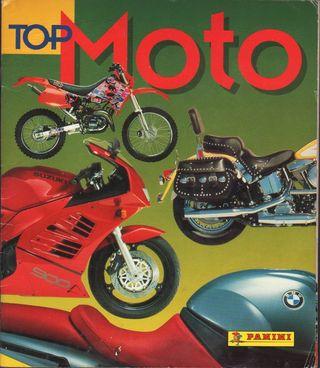 ALBUM CROMOS FACSIMIL TOP MOTO