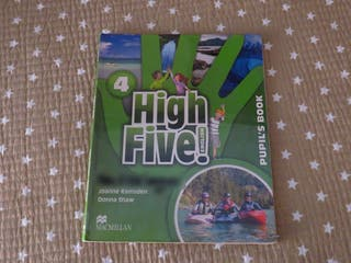 High Five! Inglés 4º Primaria Pupil's Book
