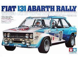 Maqueta Fiat 131 Abarth 1/20 Tamiya