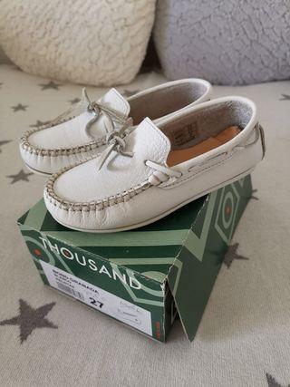 Zapatos niño piel 27. NUEVOS.