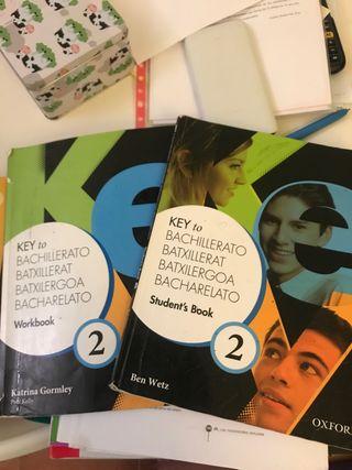 Libros STUDENT'S BOOK y WORKBOOK 2 bach