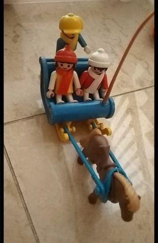 Trineo Playmobil