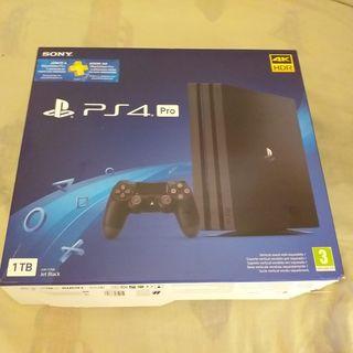 PS4 PRO nueva con 1 mando