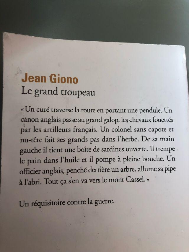 Le grand troupeau de Jean Giono