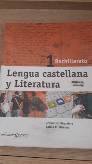 Lengua castellana 1°bachillerato