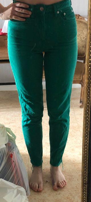 Pantalon vert H&M