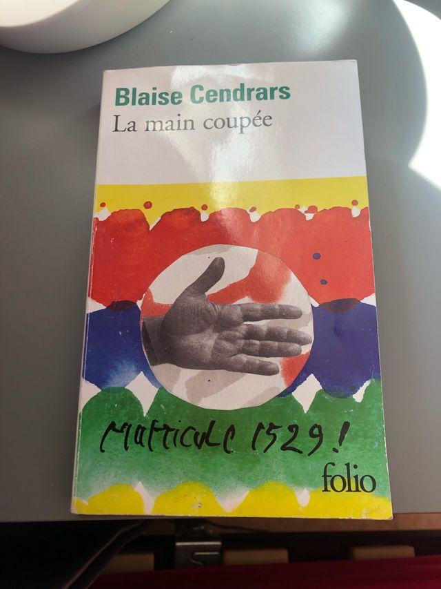 La main coupée de Blaise Cendrars