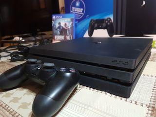 Play Station 4 PRO de 1Tb.Mando + Resident Evil 2