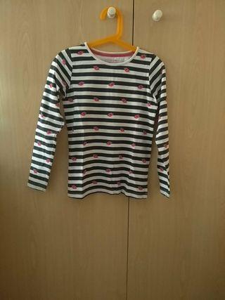 Camiseta niña manga larga