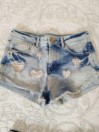 2 shorts talla 34