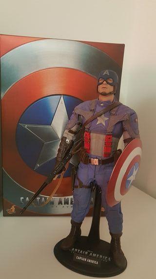 Capitán América First Avenger Hot Toys