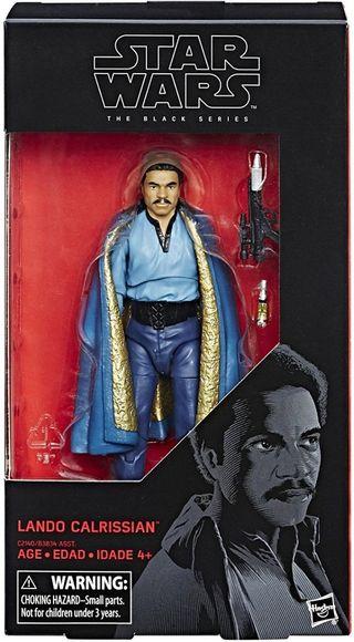 Star wars Black Series Lando Calrission