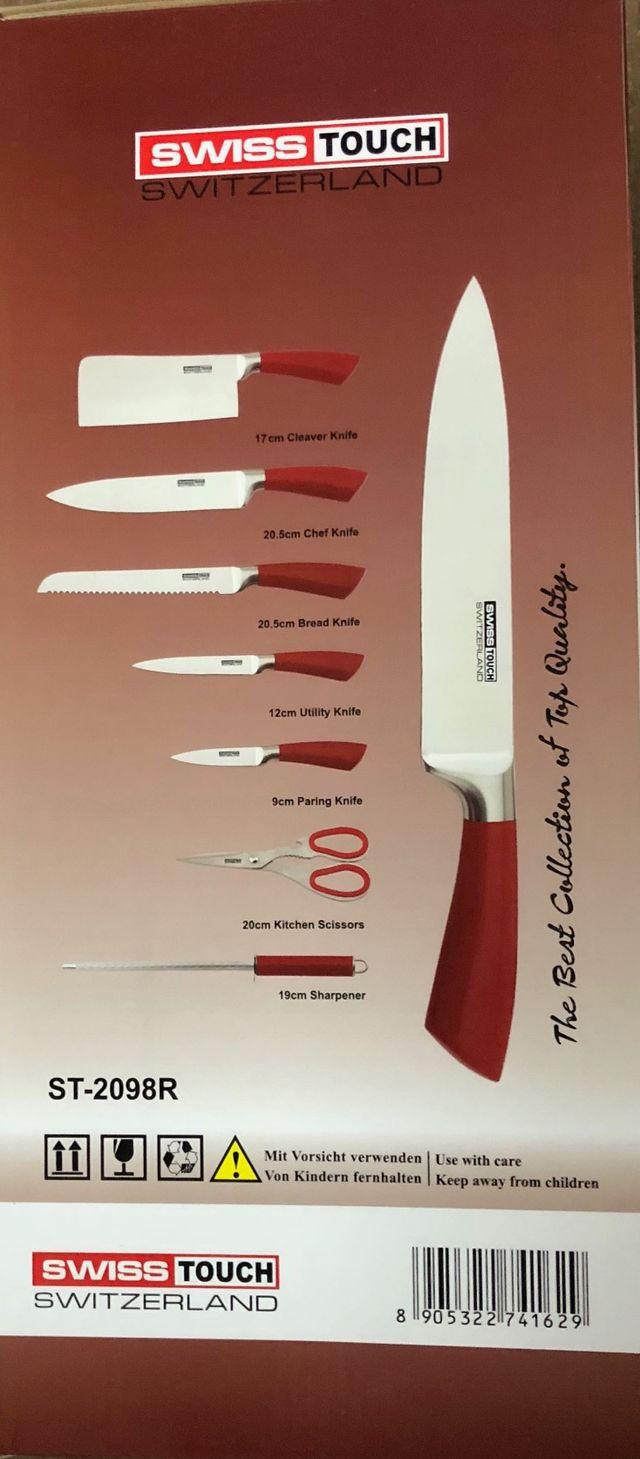Cuchillo Taco rojo