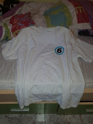 Camiseta Blanca Linea 6
