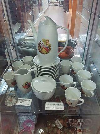 Conjunto café 25pzas