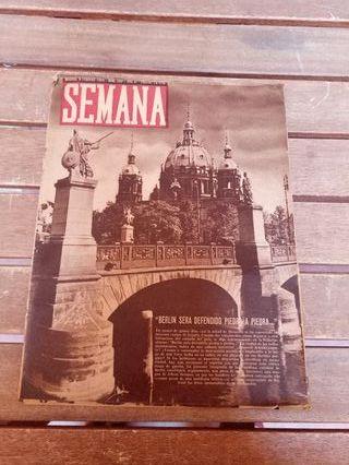 Revista Semana de 1943