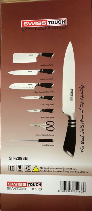 Cuchillo Taco negro