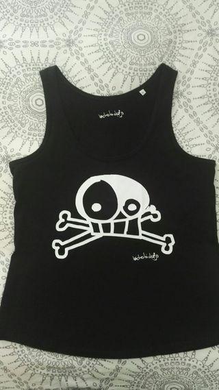 Camiseta tirantes Bicho bichejo talla XL