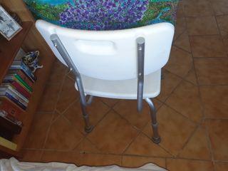 silla para la ducha