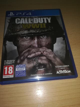 Call of duty WWII PS4 (Nuevo)