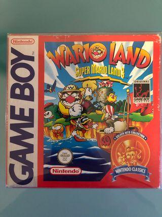 Super Mario Land 3 Warioland Game Boy