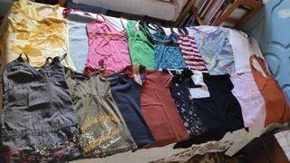 lote 17 camisetas de verano