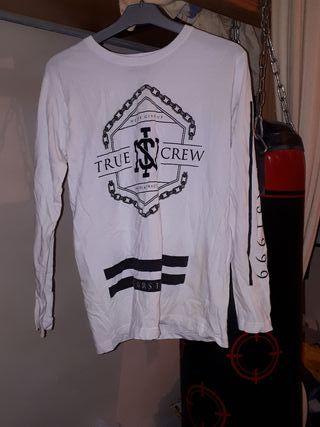 Camiseta Blanca de manga larga