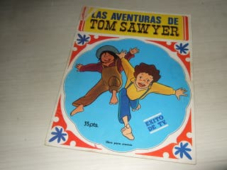 Album cromos Tom Sawyer (casi vacio)