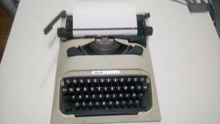 Máquina de escribir años 80