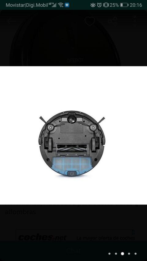 DEEBOT robot aspiradora