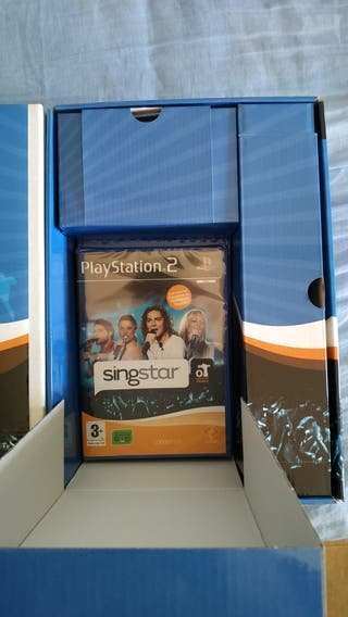 """Playstation 2 juego SingStar""""NUEVO"""""""