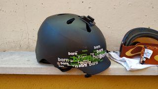 casco snowboard chico talla xl