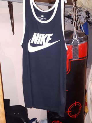 Camiseta de tirantes Negra Nike