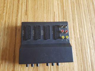 selector video switch RCA y Scart Euroconector