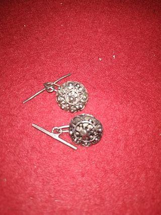 gemelos o botones de plata charros