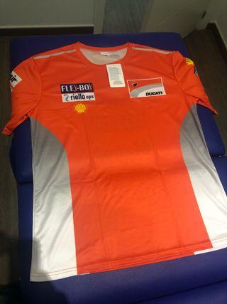 camiseta equipo ducati XL