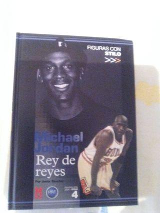 "LIBRO ""MICHAEL JORDAN; REY DE REYES"""